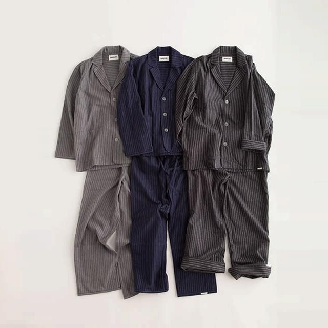 """画像1: NOWHAW/""""day""""pajama #gray/#navy/#charcoal (1)"""