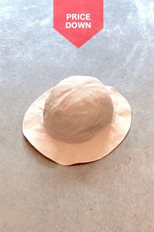 画像1: 【SALE】wonderland/METRO HAT NATURAL (1)