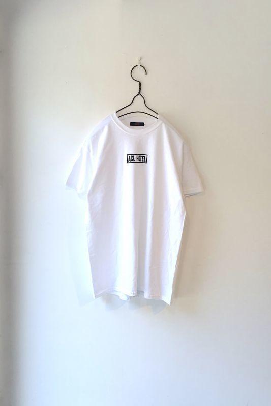 """画像1: ACO/""""ACL HOTEL"""" TEE WHITE (1)"""