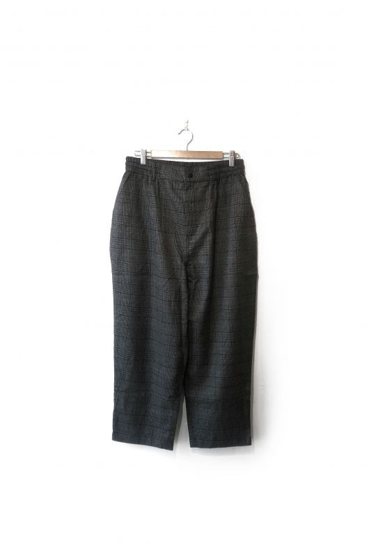 画像1: QUOLT/HIELANS PANTS  GRAY-GREEN (1)