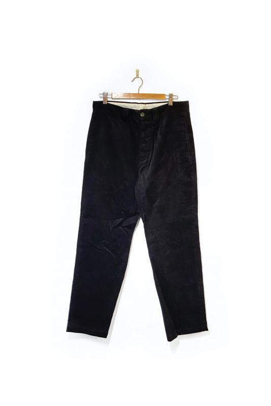 画像1: WHIMSY/CORDUROY CHINOS BLACK (1)
