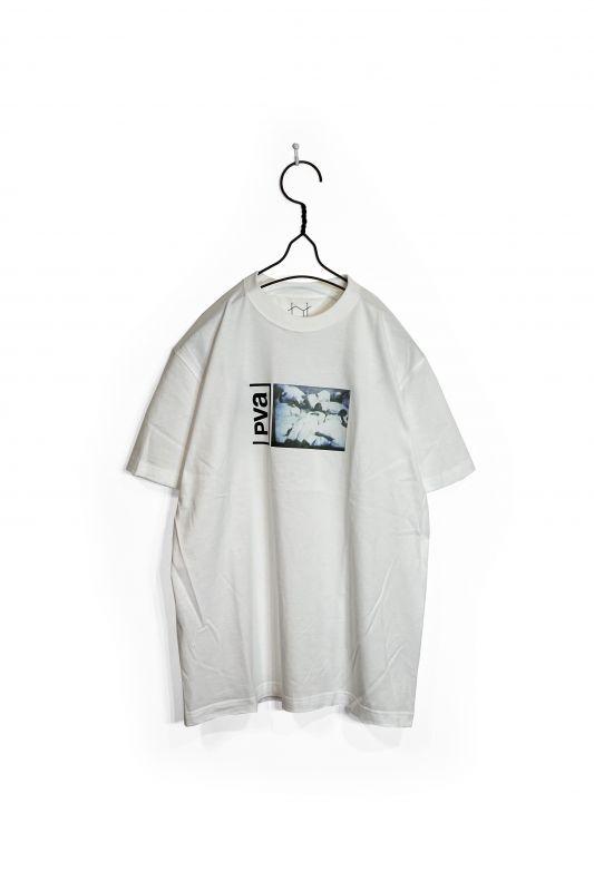 画像1: POVAL/ARCHIVE TEE WHITE (1)